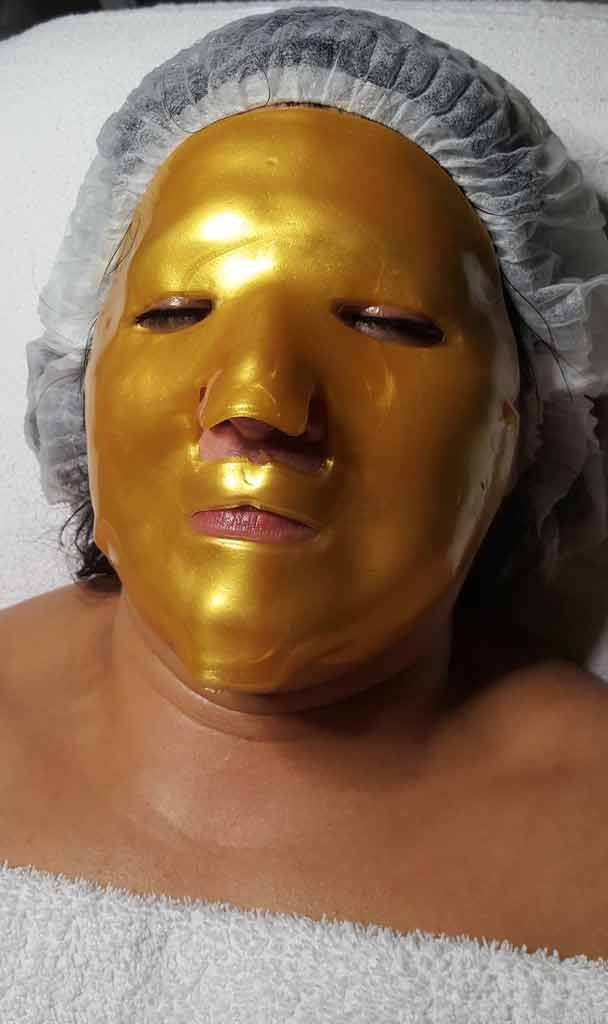 golden-collagen-maske